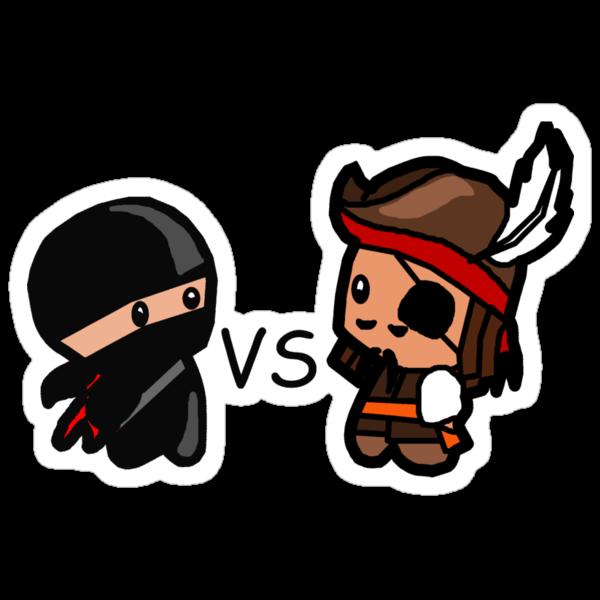 Ninjas V Pirates by Kimberly Temple