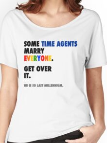Torchwood - Some Time Agents Marry Everyone Women's Relaxed Fit T-Shirt