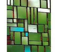 Multicoloured square 4 Photographic Print