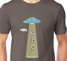 Cattle abduction Unisex T-Shirt
