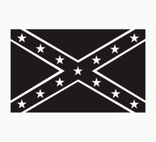 Confederate, Rebel, Dixie Flag, Mourning, BLACK, Pre USA, America, American T-Shirt