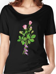 Roses and Buds Women's Relaxed Fit T-Shirt