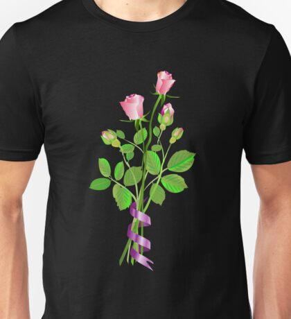 Roses and Buds Unisex T-Shirt