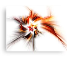 Devil's Star - Abstract Fractal Artwork Canvas Print