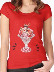 Gaara of the Dessert Women's Fitted Scoop T-Shirt