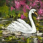 Mother Swan by Pamela Plante