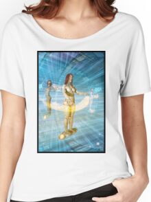 Cyberpunk Painting 051 Women's Relaxed Fit T-Shirt