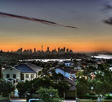 Sunrise over Sydney by Christopher Meder