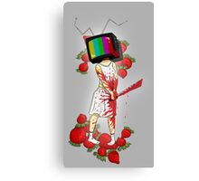 Strawberry Woman Canvas Print