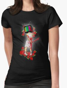 Strawberry Woman Womens Fitted T-Shirt