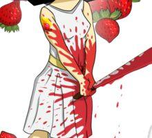 Strawberry Woman Sticker