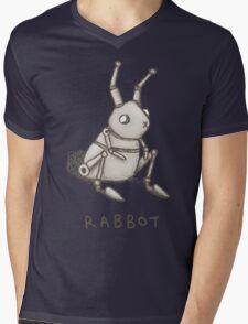 Rabbot Mens V-Neck T-Shirt