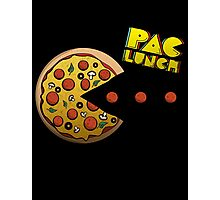 PacMan - PacLunch Funny NoveltyShirt Photographic Print