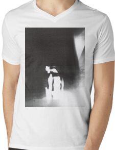 never a frown  Mens V-Neck T-Shirt