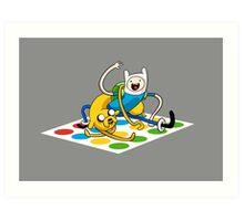 Adventure Time Twister Art Print