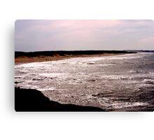 Shining Water - Cavendish Beach, PEI Canvas Print