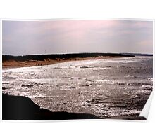 Shining Water - Cavendish Beach, PEI Poster