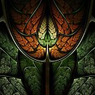 Elven Forest - Abstract Fractal Artwork by EliVokounova