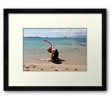 Cult of the sea Framed Print
