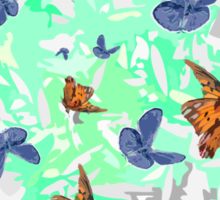 The Butterfly Experiment Sticker