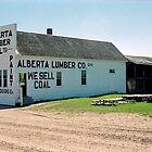 Alberta Lumber Company, Ukrainian Heritage Village near Edmonton, Alberta, Canada by Adrian Paul