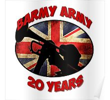 Barmy Army - 20 Years Poster