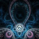 Dreaming - Abstract Fractal Artwork by EliVokounova