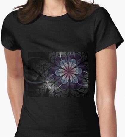 Flower of Melancholy - Abstract Fractal Artwork T-Shirt
