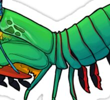 Friendly Mantis Shrimp  Sticker