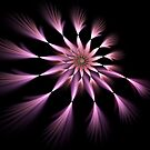 Flower - Abstract Fractal Artwork by EliVokounova