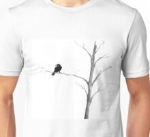 Raven in a Tree Unisex T-Shirt