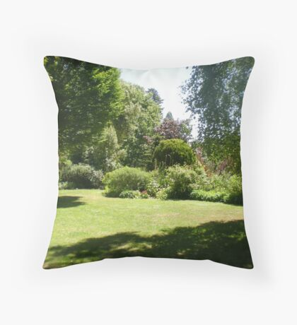 Upton Country Park, Dorset Throw Pillow
