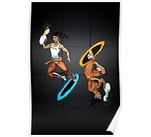 Dual Chell -- Portal Poster