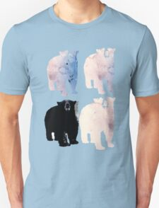 pink bears and blackie -(bear series) T-Shirt