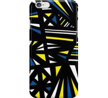 Sammarco Abstract Expression Yellow Blue iPhone Case/Skin