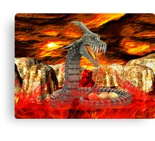 Dragons Fire Canvas Print