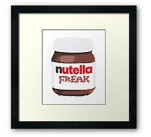 Nutella Freak Framed Print