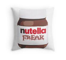 Nutella Freak Throw Pillow
