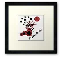 Love Bug Night Framed Print