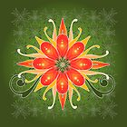 Floral Designs (3) by catherine bosman