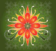 Floral Designs (3) by catherine barnhoorn