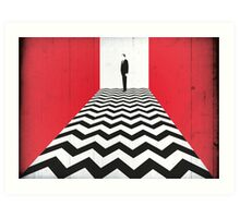 Twin Peaks Black Lodge Art Print