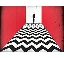 Twin Peaks Black Lodge Photographic Print