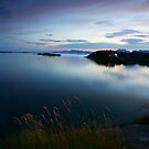 Summer night in the Lofoten Islands by Willy Vendeville