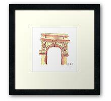 Washington Square Park Arch Framed Print
