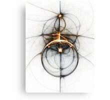Shooting star - Abstract Fractal Artwork Canvas Print