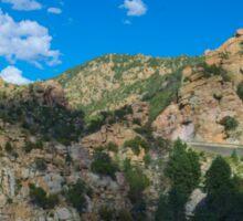 Blue Arizona Sky and Mt. Lemmon Sticker