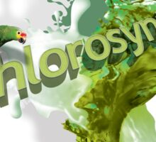 Chlorosynth:: design.inspired.by.nature Sticker