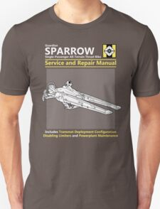 Sparrow Service and Repair Manual T-Shirt