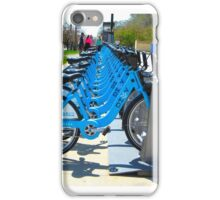 Rent & Ride Chicago Bicycles iPhone Case/Skin